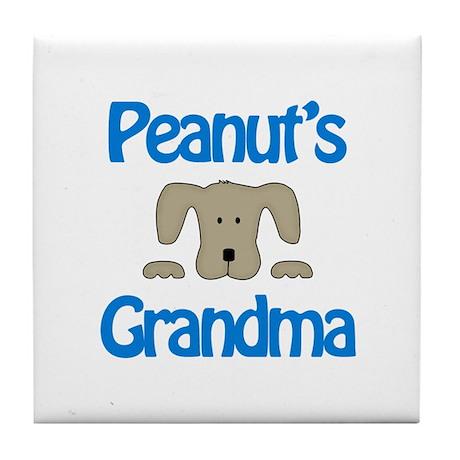 Peanut's Grandma Tile Coaster