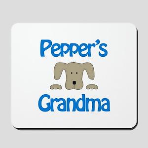 Pepper's Grandma Mousepad