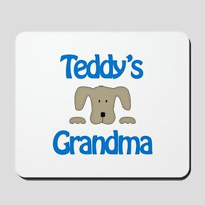 Teddy's Grandma Mousepad