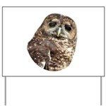 Northern Spotted Owl Yard Sign