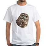 Northern Spotted Owl White T-Shirt