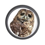 Northern Spotted Owl Wall Clock