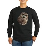 Northern Spotted Owl Long Sleeve Dark T-Shirt