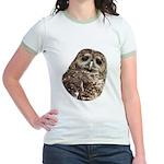 Northern Spotted Owl Jr. Ringer T-Shirt