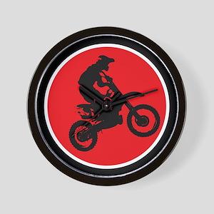 Motocross 2 Wall Clock