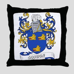 Gordon Coat of Arms Throw Pillow