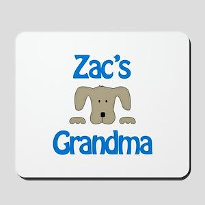 Zac's Grandma Mousepad