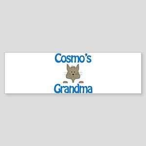 Cosmo's Grandma Bumper Sticker