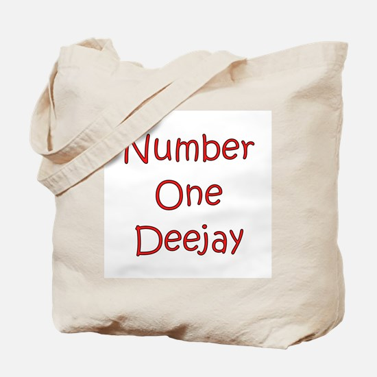 Number One Deejay Tote Bag