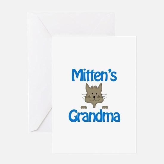 Mittens Grandma Greeting Card