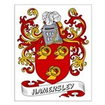 Hamersley Coat of Arms Small Poster