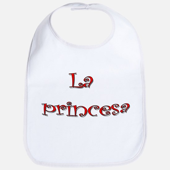 La Princesa ~ Rojo (red) Bib