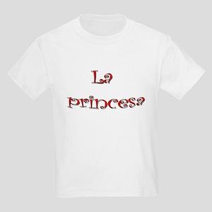 La Princesa ~ Rosado (pink) Kids Light T-Shirt