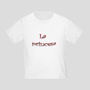 La Princesa ~ Rojo (red) Toddler T-Shirt