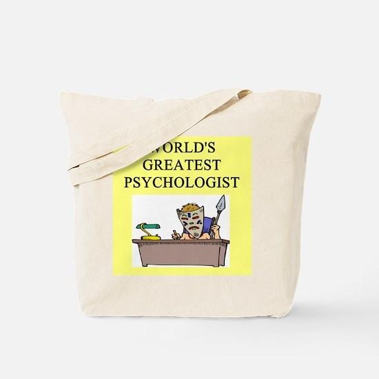 psychology gifts t-shirts Tote Bag