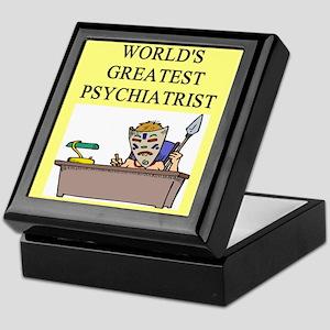 psychiatry gifts t-shirts Keepsake Box