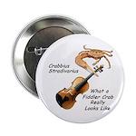Fiddler Crab Button
