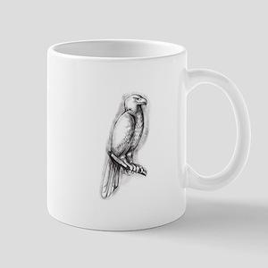 Australian Wedge-tailed Eagle Perch Tattoo Mugs