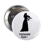 Violinists Rule Button (Lady) 2.25
