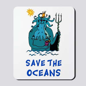 Save the Oceans Mousepad