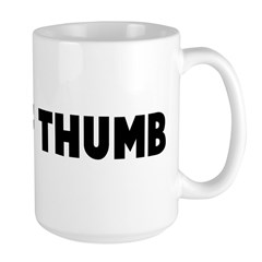 Rule of thumb Large Mug