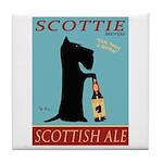 Scottie Scottish Ale Tile Coaster