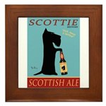 Scottie Scottish Ale Framed Tile