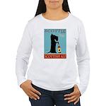Scottie Scottish Ale Women's Long Sleeve T-Shirt