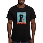 Scottie Scottish Ale Men's Fitted T-Shirt (dark)