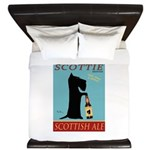 Scottie Scottish Ale King Duvet