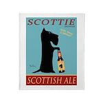 Scottie Scottish Ale Throw Blanket