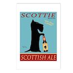 Scottie Scottish Ale Postcards (Package of 8)