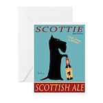 Scottie Scottish Ale Greeting Cards (Pk of 10)