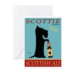Scottie Scottish Ale Greeting Cards (Pk of 20)