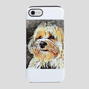 Copper the Havapookie iPhone 8/7 Tough Case