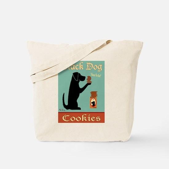 Black Dog Cookies Tote Bag