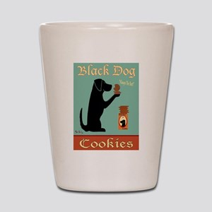 Black Dog Cookies Shot Glass