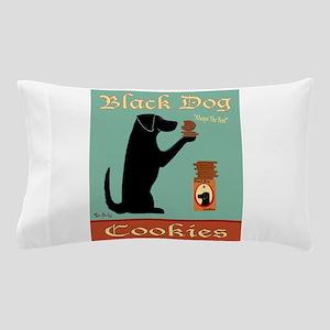 Black Dog Cookies Pillow Case