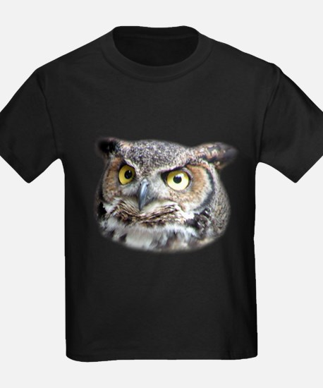 Great Horned Owl Face T