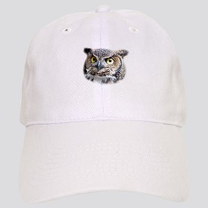 Great Horned Owl Face Cap