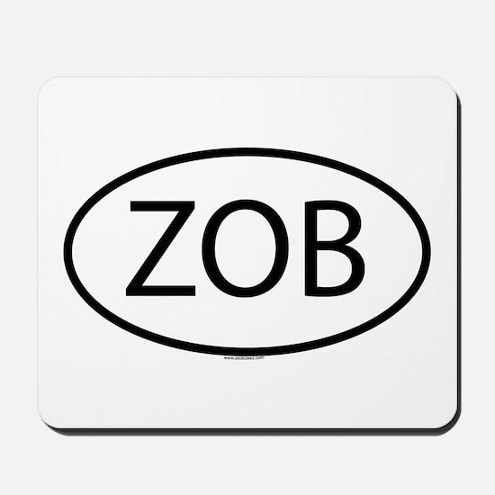ZOB Mousepad