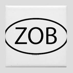 ZOB Tile Coaster