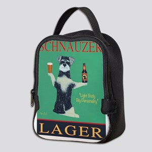 Schnauzer Lager Neoprene Lunch Bag