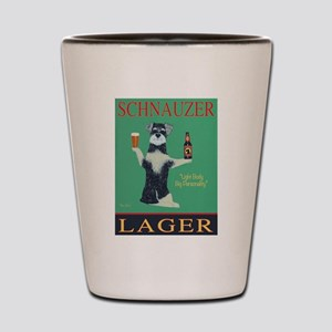 Schnauzer Lager Shot Glass