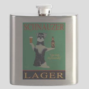 Schnauzer Lager Flask