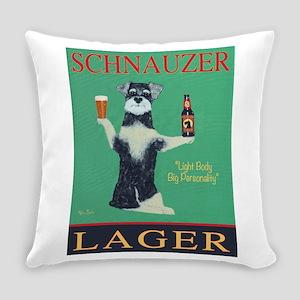 Schnauzer Lager Everyday Pillow