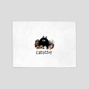 catSitter 5'x7'Area Rug