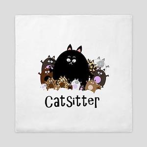 catSitter Queen Duvet