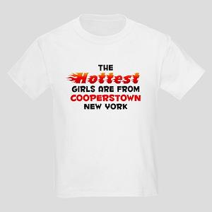 Hot Girls: Cooperstown, NY Kids Light T-Shirt