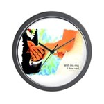 I Thee Wed Wall Clock